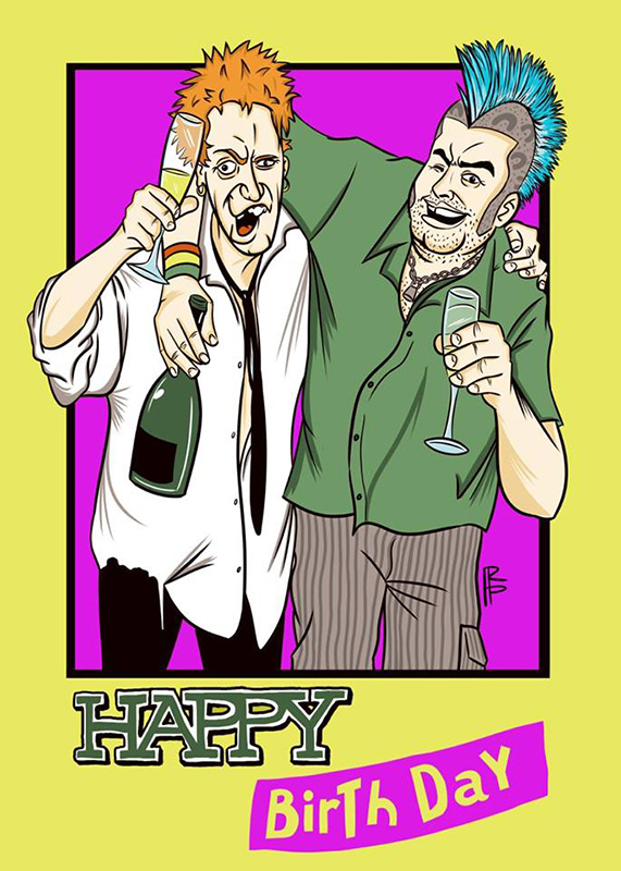 Johnny Rotten & Fat Mike