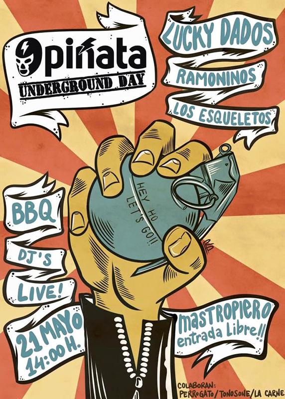Piñata Underground Day