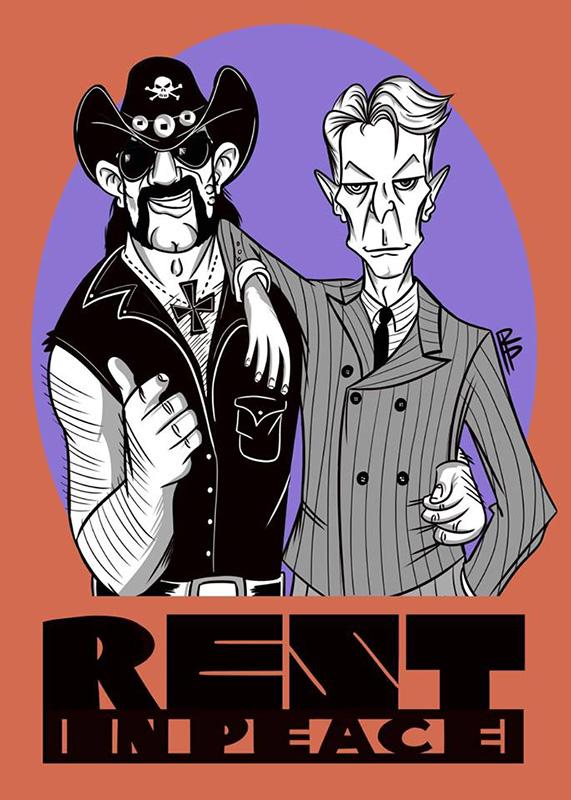 Lemmy & Bowie