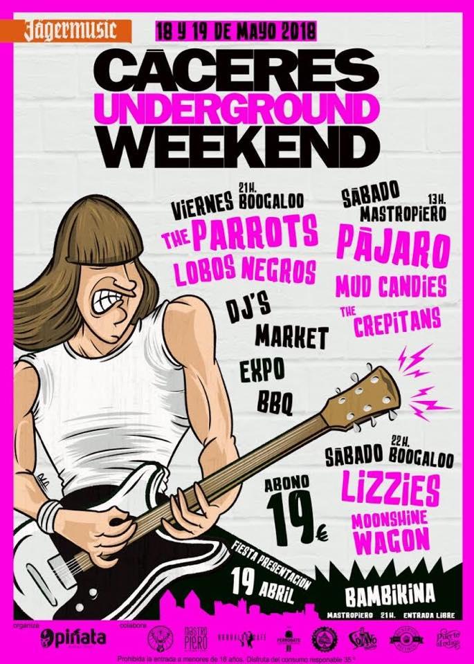 Cáceres Underground Weekend