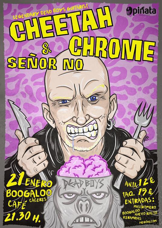 Cheetah Chrome & Señor No