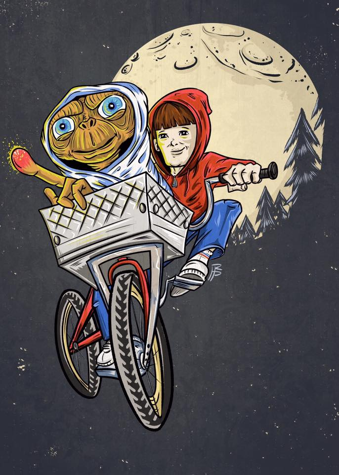 E.T. & Elliot