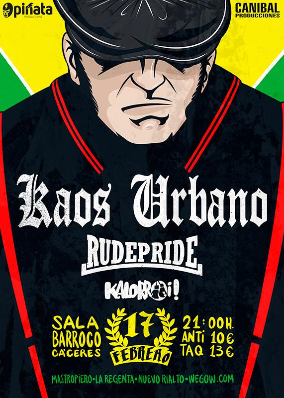 Kaos Urbano + Rude Pride